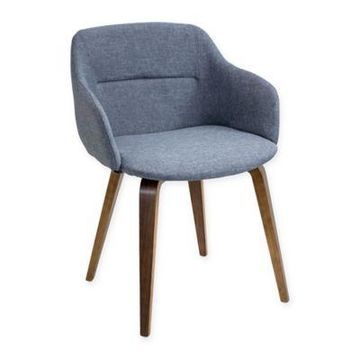 LumiSource Campania Chair in Blue