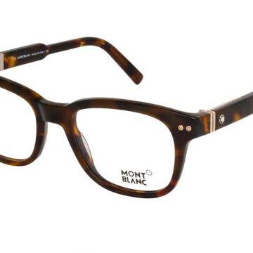 Montblanc Tortoise Eyeglasses MB0628 055 52