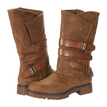 Blowfish Raexy (Brown Prospector/Die Cut) Women's Boots
