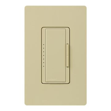 Lutron Maestro Single-Pole Ivory Touch Light Dimmer