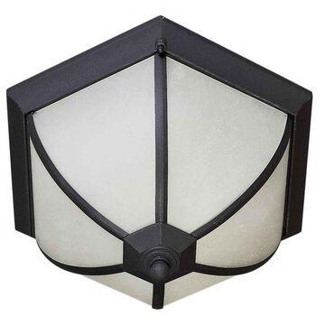 Forte Lighting 17007-02 2 Light Flush Mount Ceiling Fixture