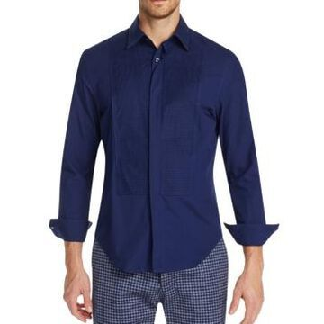 Tallia Men's Slim-Fit Stretch Tuxedo Shirt