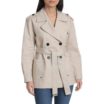 Avec Les Filles Double-Breasted Cotton Jacket