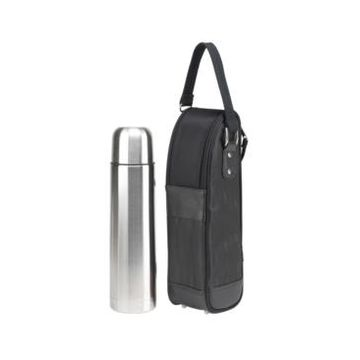Picnic at Ascot Stylish Coffee Tote with Thermal Flask