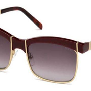 Emilio Pucci EP0058 69T Womenas Sunglasses Red Size 56
