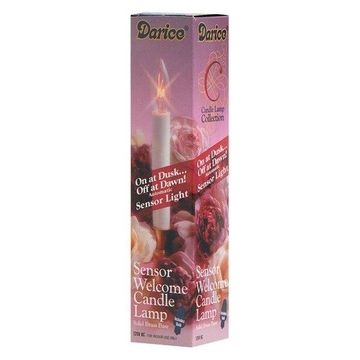 Darice Candle Lamp Collection Sensor Welcome Candle Lamp-9