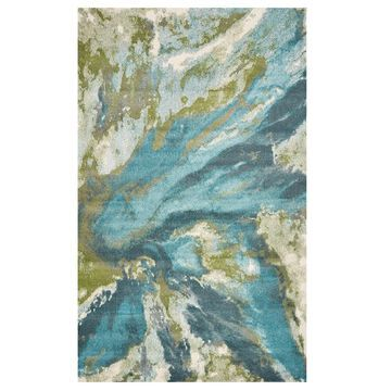 KAS Rugs Watercolors Abstract Rug