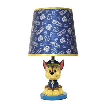 Paw Patrol Chase Figural Table Lamp
