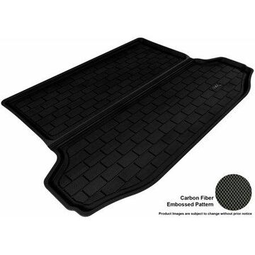 3D MAXpider 2006-2012 Toyota AVALON All Weather Cargo Liner in Black with Carbon Fiber Look