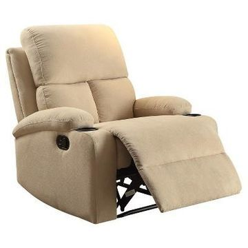 Accent Chairs Acme Furniture Beige