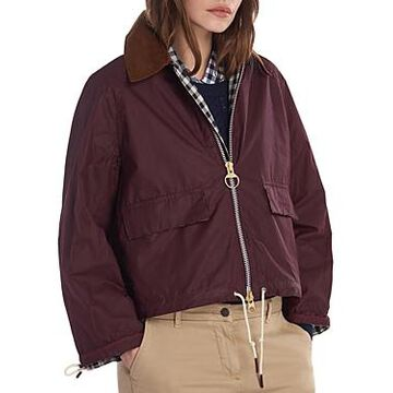 Barbour by Alexachung Margot Waxed Cotton Jacket
