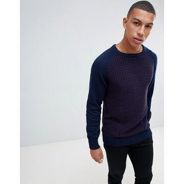 Another Influence Waffle Front Sweater