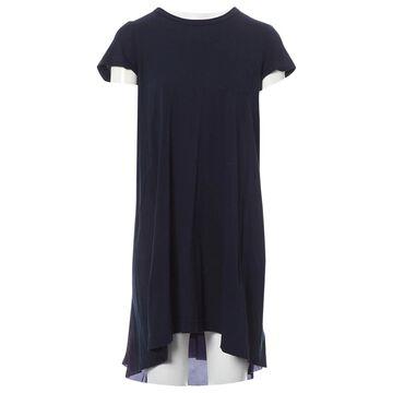 Sacai \N Navy Cotton Dresses