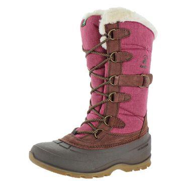 Kamik Snowvalley 2 Women's Waterproof Nylon Suede Cuffed Winter Snow Boots
