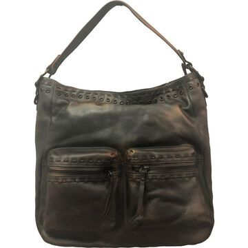 Diophy Archaic Front Double Pocket Hobo