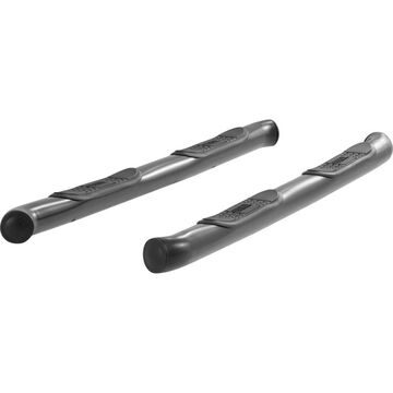 ARS206008 Aries Nerf Bars, stainless steel aries 3in side bars powdercoated black