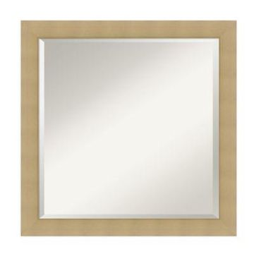 Amanti Art inches Wall Mirror in Natural