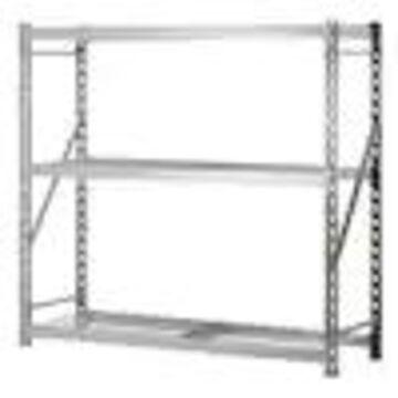 Sandusky Muscle Rack 24-in D x 77-in W x 72-in H 3-Tier Steel Freestanding Shelving Unit