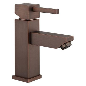 Legion Furniture Single Faucet, Brown Bronze