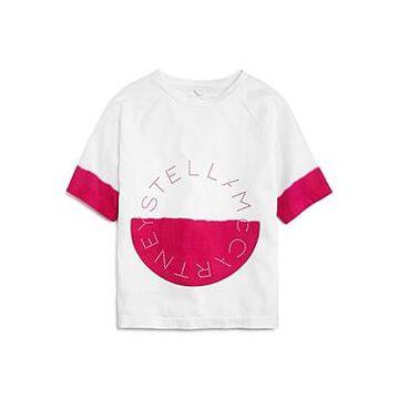 Stella McCartney Girls' Dip-Dye Graphic Tee - Little Kid