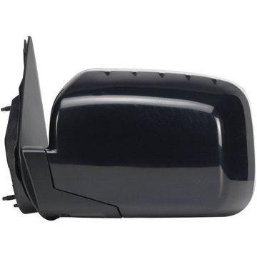 63012H - Fit System Driver Side Mirror for 06-14 Honda Ridgeline, black, foldaway, Power