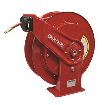 HD78050 OLP 300 PSI 0.5 in. x 50 ft. Heavy Duty Spring Retractable Hose Reel