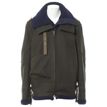 Sacai \N Khaki Wool Coats