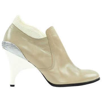 Undercover Grey Leather Ankle boots