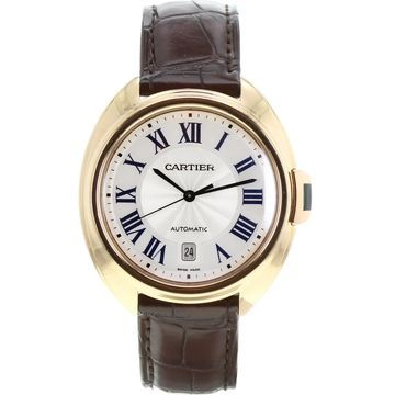 Cartier Cle Brown Yellow gold Watches