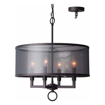 Woodbridge Lighting 15514 Jamison 4 Light Chandelier