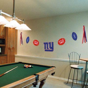 New York Giants Team Celebration Banner