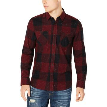 American Rag Mens Check Button Up Shirt