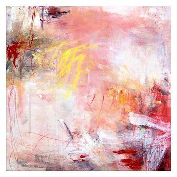 Ready2HangArt 'Rose Water I' Abstract Canvas Wall Art