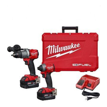 Milwaukee Electric Tools Hammer Drill/Impact Driver Kit