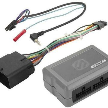 Scosche - Interface for Select Harley-Davidson Motorcycles - Gray