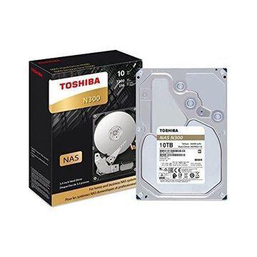 TOSHIBA HDWG11AXZSTA TOSHIBA N300 NAS - HARD DRIVE - 10 TB - INTERNAL - 3.5 INCH - SATA 6GB/S - 7200