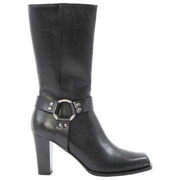 Altuzarra Black Leather Boots