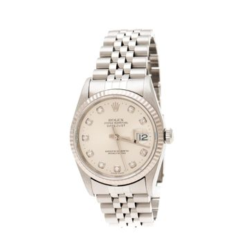 Rolex Datejust 36mm Silver Steel Watches