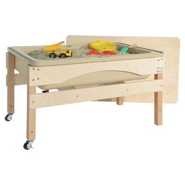 Wood Designs 11825TN Absolute Best Sand & Water Sensory Center with Lid