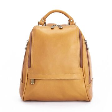 Royce Leather Handcrafted Colombian Leather Luxury Sling Backpack