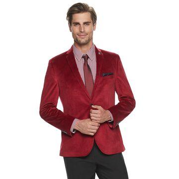 Men's Nick Graham Slim Fit Velvet Sportcoat