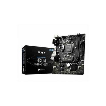 MSI H310MPROM2P LGA1151 Intel H310 DDR4 SATA 3 & USB 3.1 M.2 A & GBE Micro ATX M