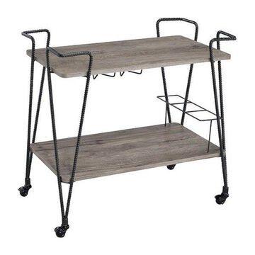 ACME Furniture Paulsen Serving Cart in Black