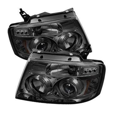 Spyder Auto 5010223 Halo LED Projector Headlights 04-08 F-150 Pickup