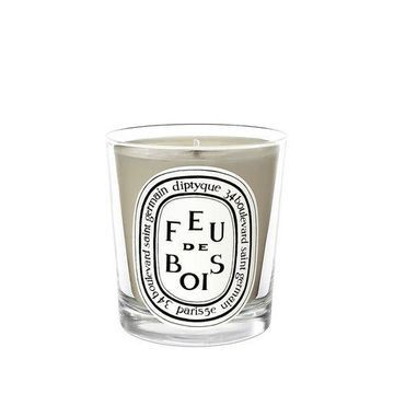 Feu de Bois (Firewood) Mini Candle 70 g by Diptyque Free Shipping