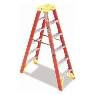 8' Fiberglass Twin Front Step Ladder