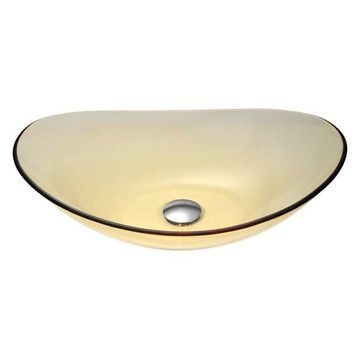 ANZZI Mesto Series Deco-Glass Vessel Sink