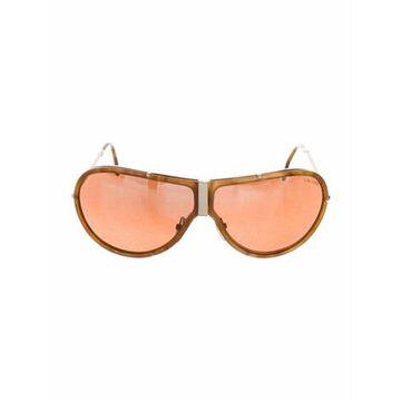 Falconer Shield Sunglasses Brown