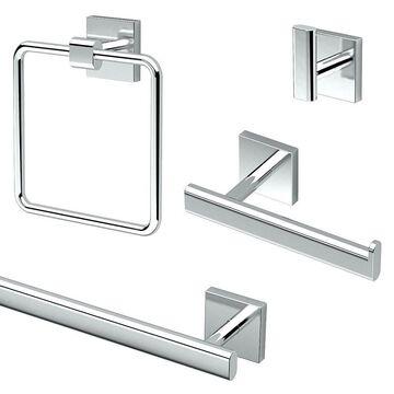 Gatco Elevate 4-Piece Bathroom Accessory Kit