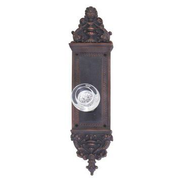 Apollo Passage Door Set, Venetian Bronze, 3-5/8